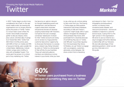 Tips for the Social Media Marketer Twitter