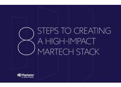 8 steps high impact martech stack cover image