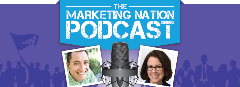 The Marketing Nation Podcast Episode 1 Ann Handley Banner