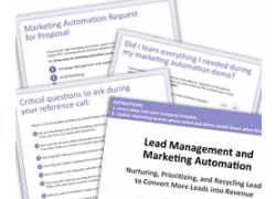thumbs Marketing Automation Buyers Kit