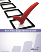 email deliverability design and creative checklist