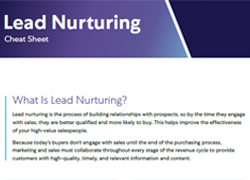 Lead Nurturing Cheat Sheet Thumbnail